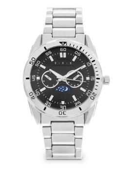 Срібні чоловічі наручні годинники зі сталі Bolf 5687
