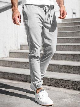 Сірі чоловічі штани джоггери Bolf 0011