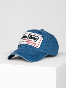 Темно-синя кепка, бейсболка Bolf CZ59