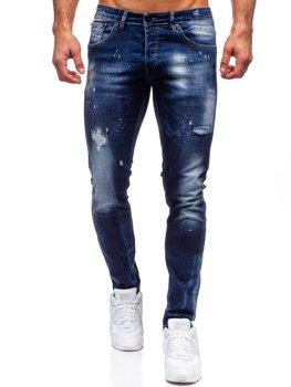 Темно-сині чоловічі джинси regular fit Bolf 9257