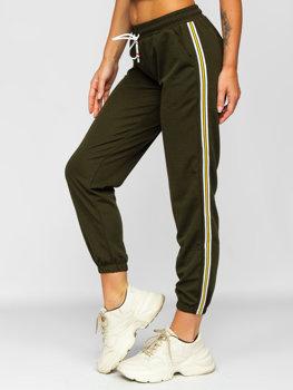 Хакі жіночі спортивні штани Bolf YW01020B
