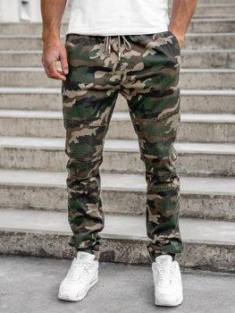 Хакі чоловічі штани камуфляж джоггери Bolf RB8213XT