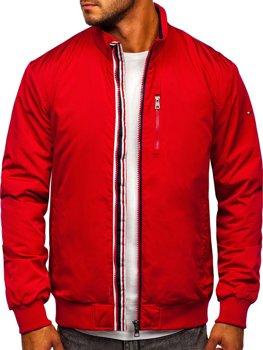 Червона чоловіча демісезонна куртка Bolf WX031A