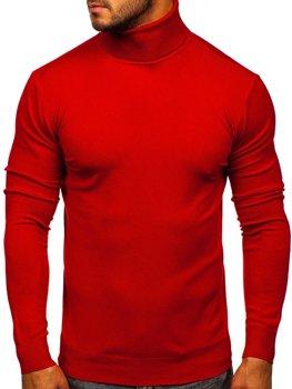 Червона чоловічий светр гольф Bolf YY02