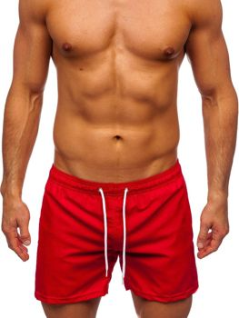 Червоні чоловічі пляжні шорти Bolf ST002