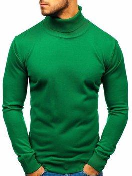 Чоловіча водолазка зелена Bolf 2400