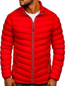 Чоловіча демісезонна спортивна куртка Червона Bolf SM71