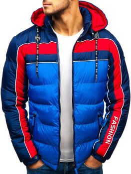 Чоловіча зимова куртка синя Bolf A429 b05f2f17e7d1b