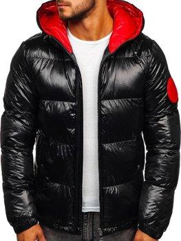 Чоловіча зимова куртка чорна Bolf 99311