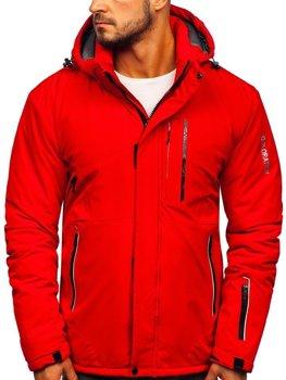 Чоловіча лижна куртка червона Bolf 1910