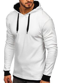 Чоловіча толстовка з капюшоном біла Bolf 145380