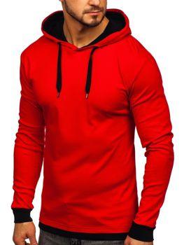 Чоловіча толстовка з капюшоном червона Bolf 145380