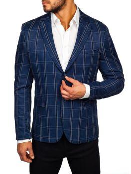 Чоловічий піджак темно-синя Bolf 1666