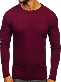 Чоловічий светр бордовий Bolf 0001