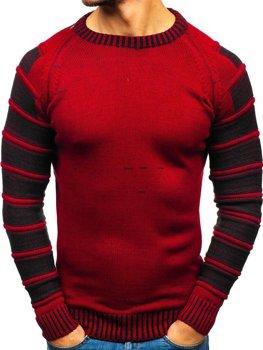 Чоловічий светр червоний Bolf 6007