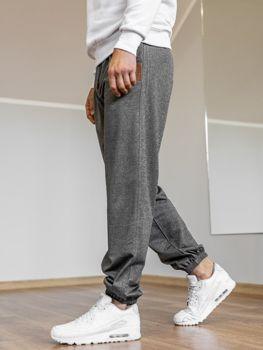 Чоловічі спортивні штани джогери графітові Bolf Q5009 476f4343efef6
