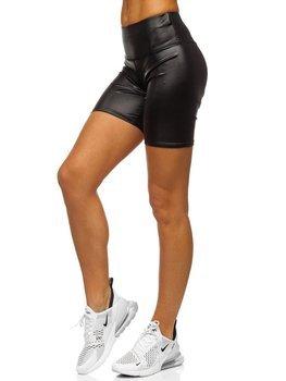 Чорні короткі жіночі легінси Bolf 54548-2