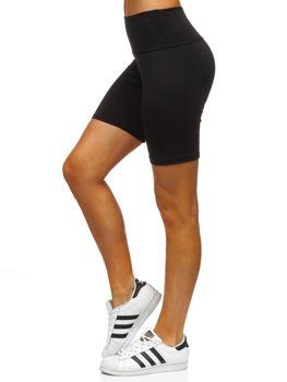 Чорні короткі жіночі легінси Bolf 54548