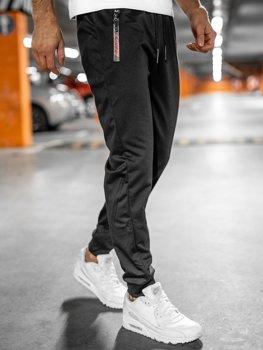 Чорні чоловічі спортивні штани Bolf JX9515