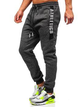 Чорні чоловічі спортивні штани Bolf TC512