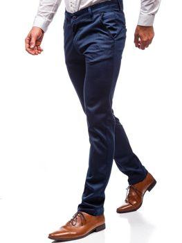 Штани чоловічі темно-сині Bolf 7625