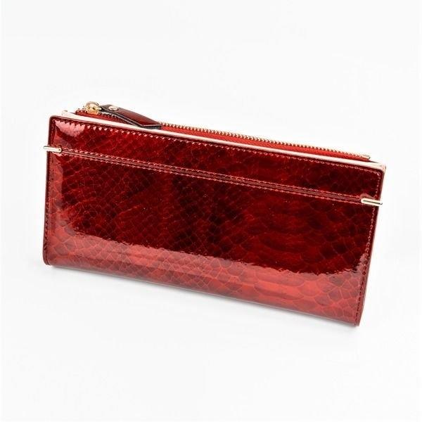Жіночий гаманець з еко шкіри червоний 1049