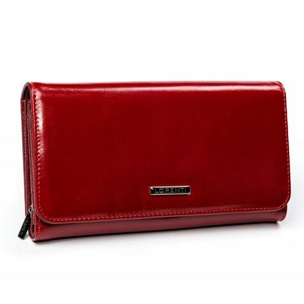 Жіночий шкіряний гаманець червоний 2900