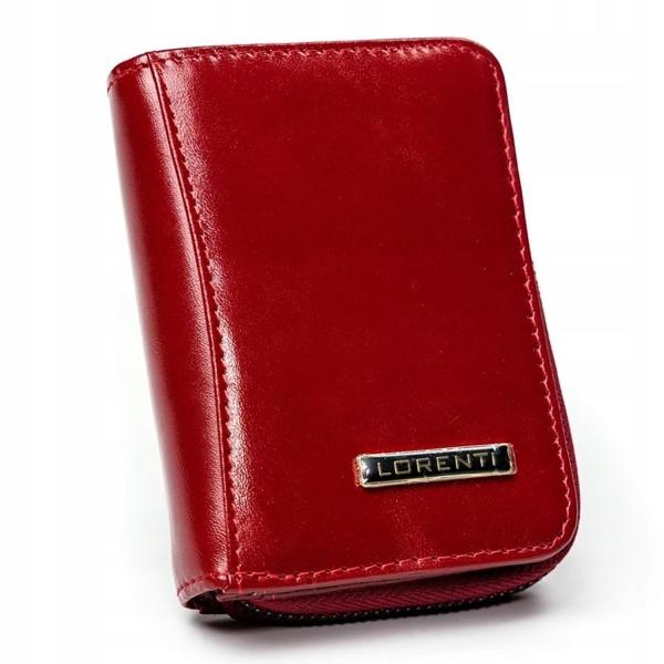 Жіночий шкіряний гаманець червоний 2909