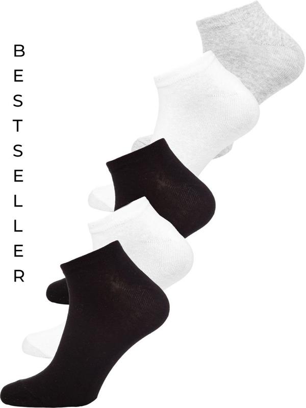 Чоловічі багатобарвні короткі шкарпетки Bolf X10161-5P 5 PACK