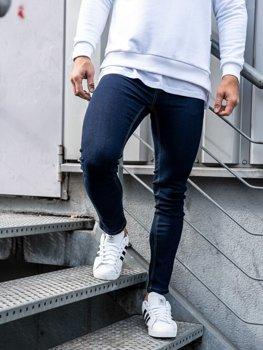 Чоловічі джинсові штани чорнильні Bolf 61828