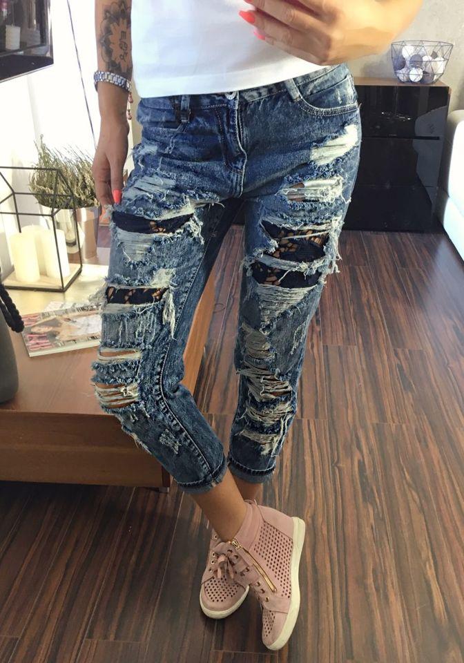 Темно-сині джинси жіночі Bolf 5127 21075d6a0147f