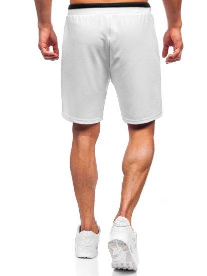 Білі чоловічі спортивні шорти Bolf KS2598