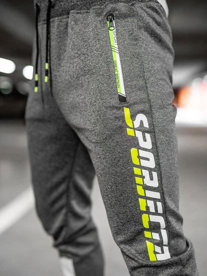 Графітові чоловічі спортивні штани Bolf K10239