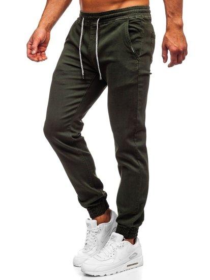 Зелені чоловічі штани джоггери Bolf CT8808