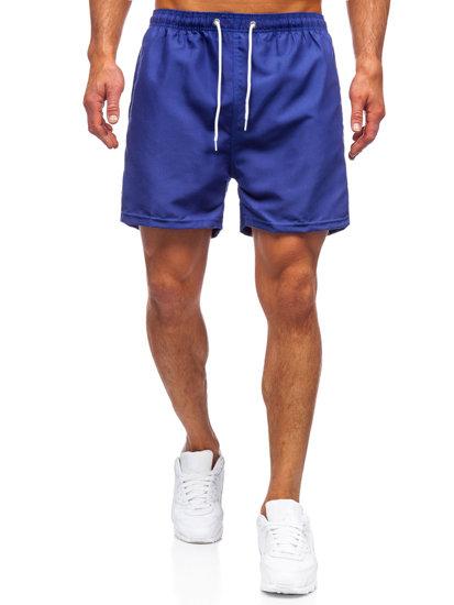 Кобальтові чоловічі пляжні шорти Bolf YW02001