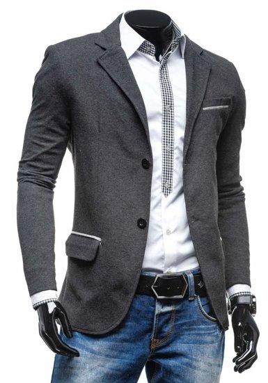 Піджак чоловічий COOLBERG 606-K антрацитно-сірий
