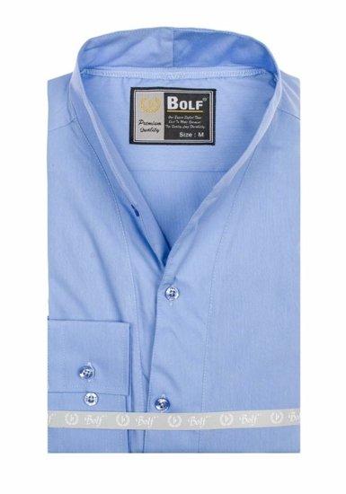 Сорочка чоловіча BOLF 5702 блакитна