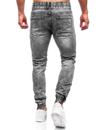 Сірі джинси джоггери-карго чоловічі Bolf T372