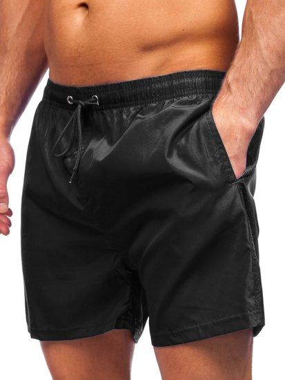 Чорні чоловічі пляжні шорти Bolf YW02002