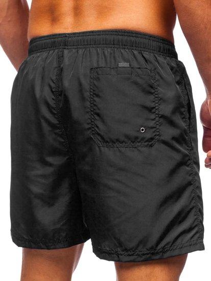 Чорні чоловічі пляжні шорти Bolf YW07002