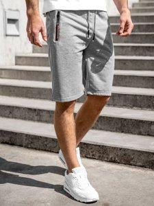 Сірі чоловічі спортивні шорти Bolf JX511