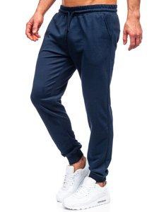 Темно-сині чоловічі спортивні штани Bolf 8623