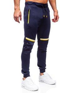 Темно-сині чоловічі спортивні штани Bolf K10276
