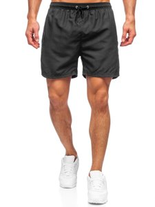 Чорні чоловічі пляжні шорти Bolf YW07001