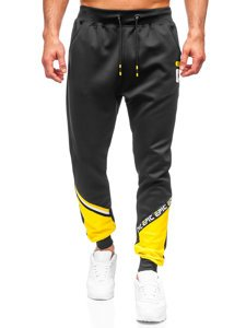 Чорні чоловічі спортивні штани Bolf K10137