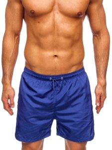 чоловічі пляжні шорти з кобальтом Bolf YW07002